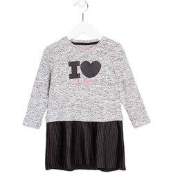 textil Flickor Korta klänningar Losan 726 7014AD Grå