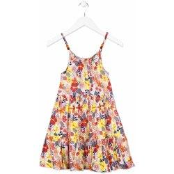 textil Flickor Korta klänningar Losan 814-7028AB Orange