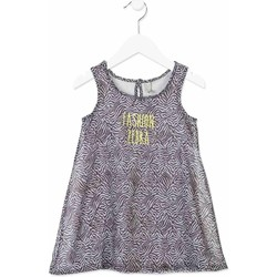 textil Flickor Korta klänningar Losan 816-7033AD Grå