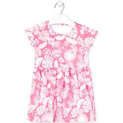 textil Flickor Korta klänningar Losan 018-7042AL Rosa