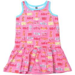 textil Flickor Korta klänningar Losan 816-7044AD Rosa