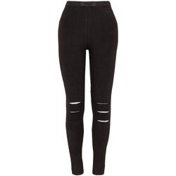 textil Flickor Leggings Losan 024-6000AL Svart