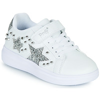 Skor Flickor Sneakers Primigi NOLLA Vit / Silver