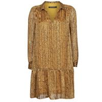 textil Dam Korta klänningar Ikks BS30195-75 Bärnsten