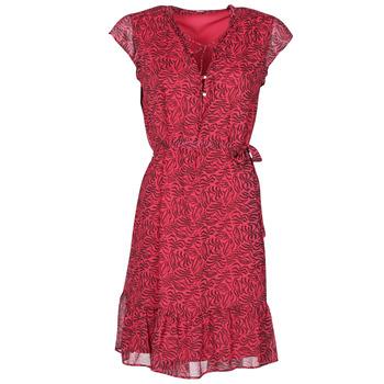 textil Dam Korta klänningar Ikks BS30355-38 Hallon