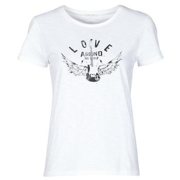 textil Dam T-shirts Ikks BS10185-11 Benvit