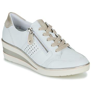 Skor Dam Sneakers Remonte Dorndorf DORA Vit / Guldfärgad