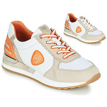 Skor Dam Sneakers Remonte Dorndorf POLLUX Vit / Grå / Orange