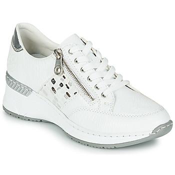 Skor Dam Sneakers Rieker GRAMI Vit