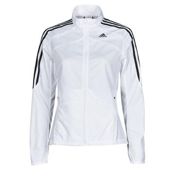 textil Dam Sweatjackets adidas Performance MARATHON JKT W Vit