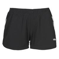 textil Dam Shorts / Bermudas adidas Performance W D2M 3S KT SHT Svart