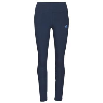 textil Dam Leggings adidas Performance W LIN LEG Blå