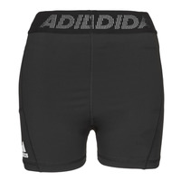 textil Dam Shorts / Bermudas adidas Performance TF SHRT 3 BAR T Svart