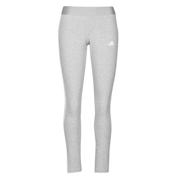 textil Dam Leggings adidas Performance W 3S LEG Grå