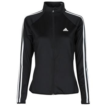 textil Dam Sweatjackets adidas Performance W 3S TJ Svart