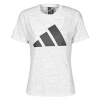 textil Dam T-shirts adidas Performance W WIN 2.0 TEE Vit