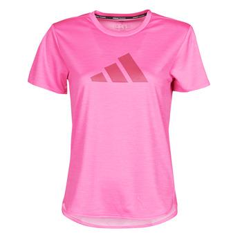 textil Dam T-shirts adidas Performance BOS LOGO TEE Rosa