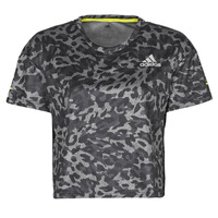 textil Dam T-shirts adidas Performance P.BLUE TEE Grå