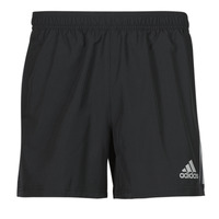 textil Herr Shorts / Bermudas adidas Performance OWN THE RUN SHO Svart
