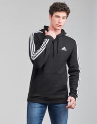 textil Herr Sweatshirts adidas Performance M 3S FL HD Svart