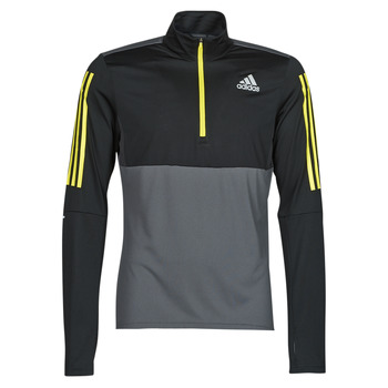 textil Herr Sweatshirts adidas Performance OWN THE RUN 1/2 Grå