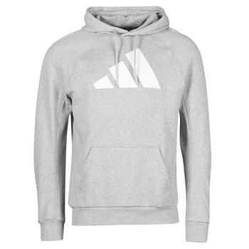 textil Herr Sweatshirts adidas Performance M FI Hood Grå