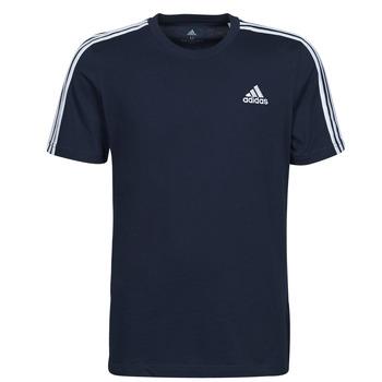 textil Herr T-shirts adidas Performance M 3S SJ T Blå