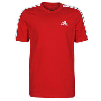 textil Herr T-shirts adidas Performance M 3S SJ T Röd