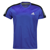 textil Herr T-shirts adidas Performance OWN THE RUN TEE Blå