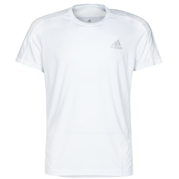 textil Herr T-shirts adidas Performance OWN THE RUN TEE Vit