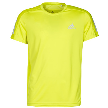 textil Herr T-shirts adidas Performance OWN THE RUN TEE Gul
