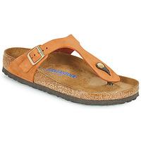 Skor Dam Flip-flops Birkenstock GIZEH SFB Orange