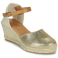 Skor Dam Sandaler Betty London CASSIA Guldfärgad