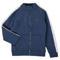 textil Pojkar Sweatshirts Tommy Hilfiger  Marin