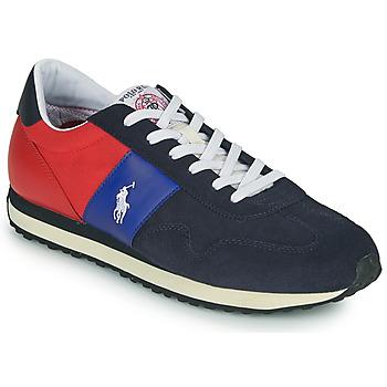 Skor Herr Sneakers Polo Ralph Lauren TRAIN 85-SNEAKERS-ATHLETIC SHOE Marin / Röd