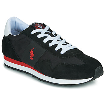 Skor Herr Sneakers Polo Ralph Lauren TRAIN 85-SNEAKERS-ATHLETIC SHOE Svart / Röd