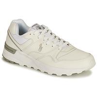 Skor Herr Sneakers Polo Ralph Lauren TRCKSTR PONY-SNEAKERS-ATHLETIC SHOE Vit