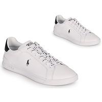 Skor Sneakers Polo Ralph Lauren HRT CT II-SNEAKERS-ATHLETIC SHOE Vit / Svart