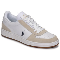 Skor Herr Sneakers Polo Ralph Lauren POLO CRT PP-SNEAKERS-ATHLETIC SHOE Vit