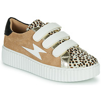 Skor Dam Sneakers Vanessa Wu BK2206LP Beige / Leopard