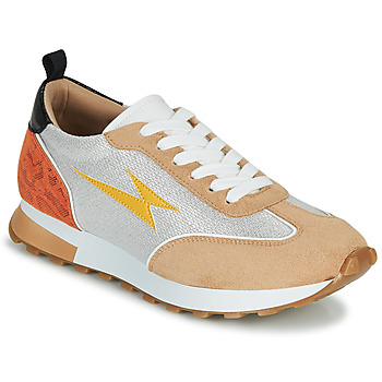Skor Dam Sneakers Vanessa Wu BK2268BG Beige / Gul / Orange