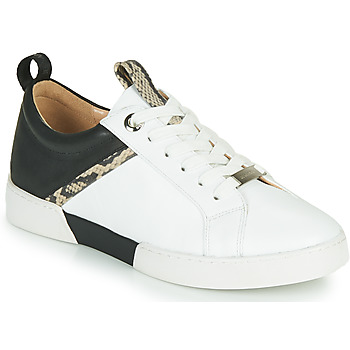 Skor Dam Sneakers JB Martin GELATO Vit / Svart