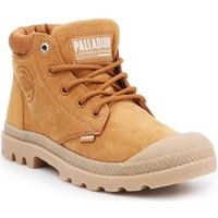 Skor Dam Boots Palladium Manufacture Pampa Cuff Lea Bruna