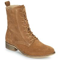 Skor Dam Boots Betty London ORYPE Cognac