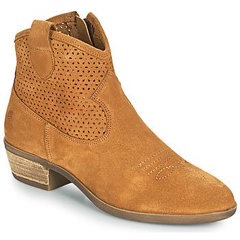 Skor Dam Boots Betty London OGEMMA Cognac