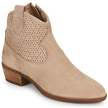 Skor Dam Boots Betty London OGEMMA Beige