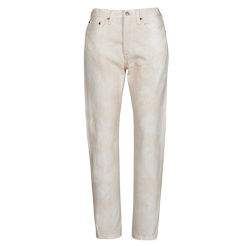 textil Dam Jeans boyfriend Levi's 501 CROP Persika