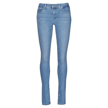 textil Dam Skinny Jeans Levi's 711 SKINNY Blå