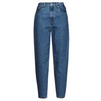 textil Dam Jeans boyfriend Levi's HIGH LOOSE TAPER Blå