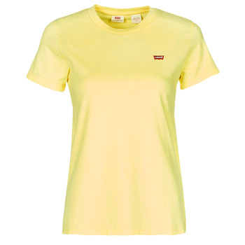 textil Dam T-shirts Levi's PERFECT TEE Lemon